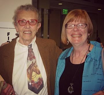 Leslee Becker and Louann Reid