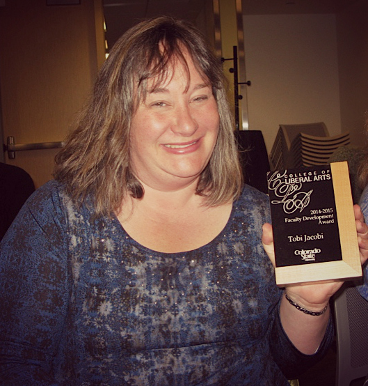 Tobi Jacobi (Faculty Development Award)