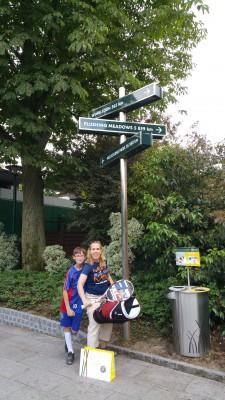 Dr. Pam Coke visits Roland Garros in Paris