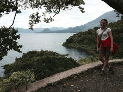 Hiking in San Pedro, Lake Atitlan