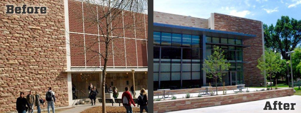 Before and After Eddy, image from The Office of CSU Events
