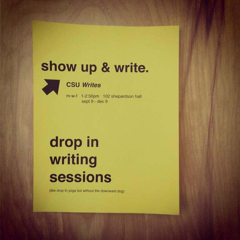 showupandwrite
