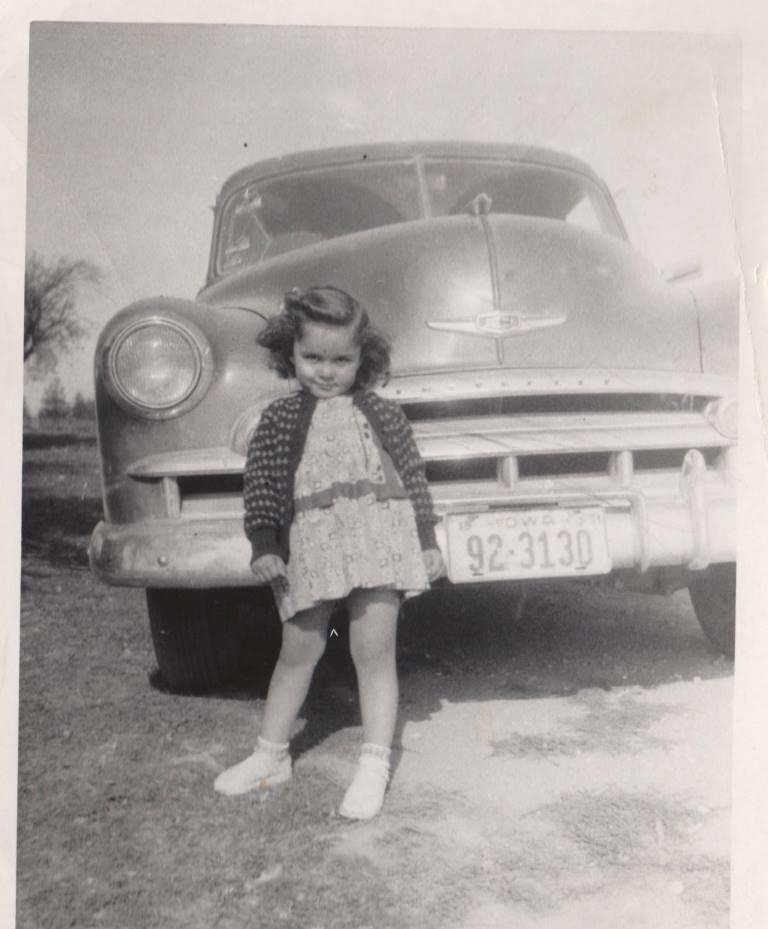 Little Deanna in Iowa