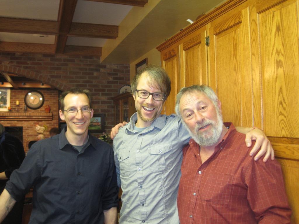 Todd Mitchell, Justin Hocking, and John Calderazzo