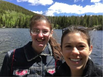 sarah at bear lake