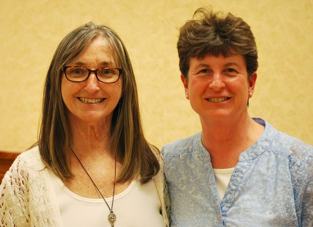 Bev McQuinn and Christina Sutton