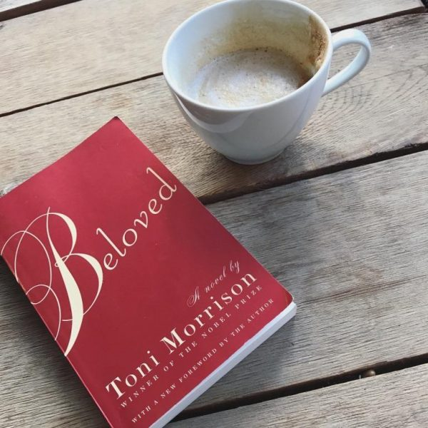 Copy of Beloved the book and cup of coffee