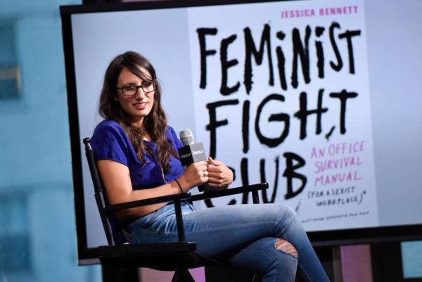 Feminist Fight Club author gives public talk