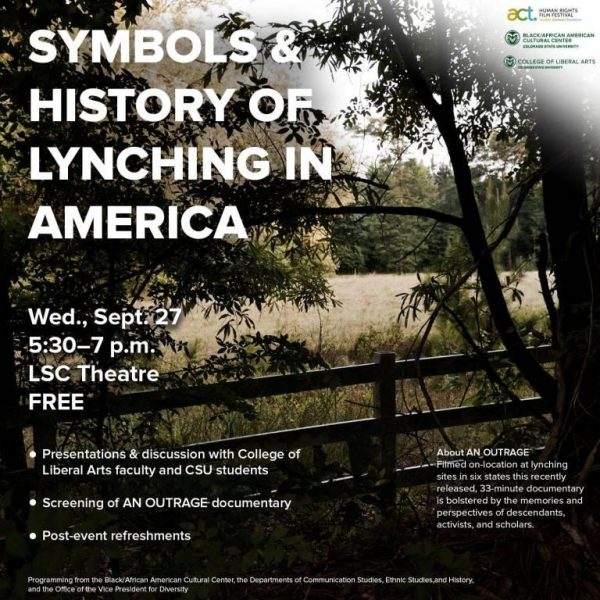 Symbols of Lynching event flyer