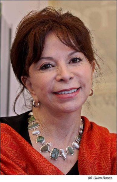 Portrait of Isabel Allende