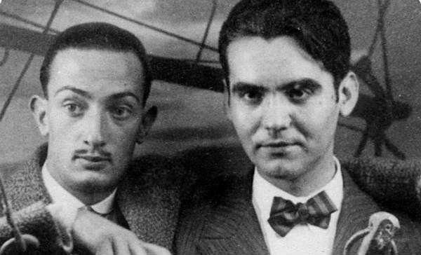Salvador Dali and Federico Garcia Lorca