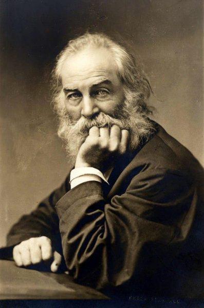 Portrait of Walk Whitman