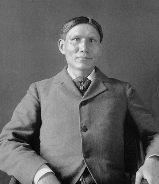 Portrait of Charles Eastman