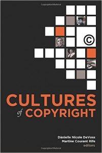 Cultures of Copyright book cover