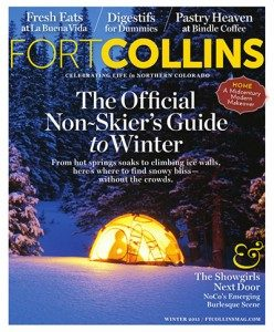 Fort Collins Magazine Winter 2015 cover