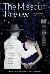 The Missouri Review book cover