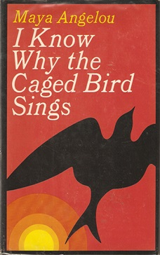 Cover from the first edition of I Know Why the Caged Bird Sings, published in 1969 by Random House
