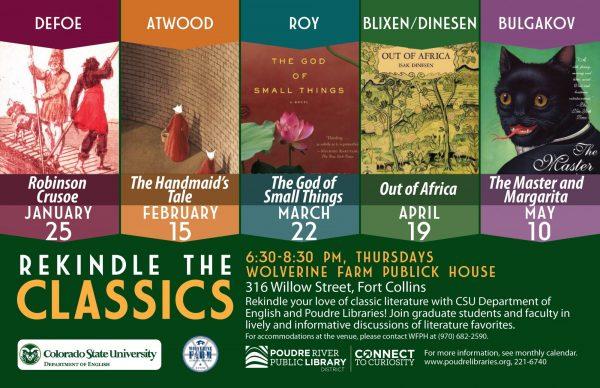 Rekindle the Classics Spring 2018 Flyer
