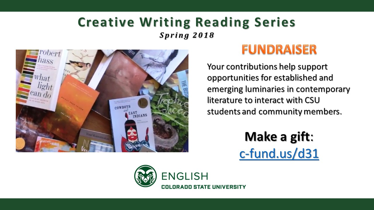 CSU Hosts Lighthouse Reading Series and NEOMFA Writers at Work Colloquium Feb. 22