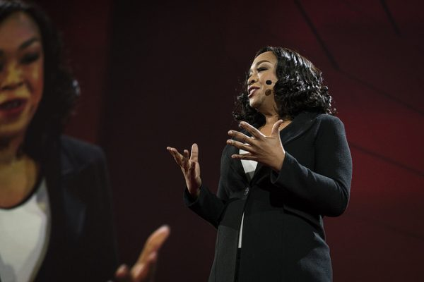 Shonda Rhimes speaks at TED2016 - Dream, February 15-19, 2016, Vancouver Convention Center, Vancouver, Canada. Photo: Bret Hartman