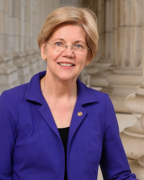 Portrait of Elizabeth Warren