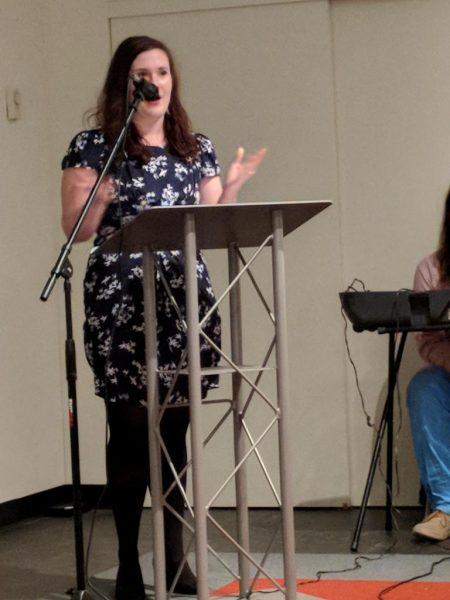 Lauren Matheny Gee reading