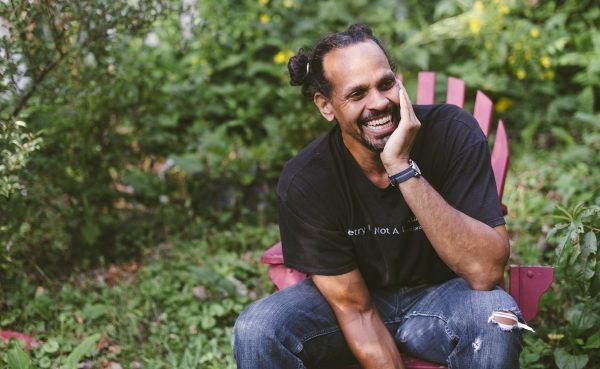 Portrait of Ross Gay by Natasha Komoda