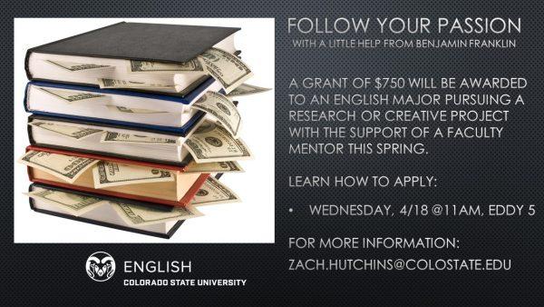 SURE grant funding info session slide