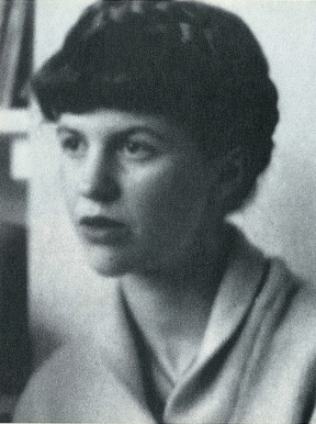 Plath photographed in July 1961 at her Chalcot Square flat in London, image by Giovanni Giovannetti/Grazia Neri