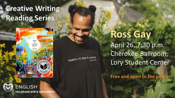 Ross Gay reading announcement