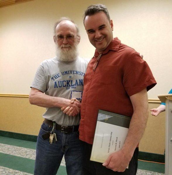 Gerry Delahunty and Steven Shook
