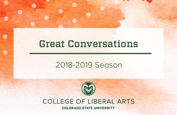 Great conversations 2018-2019 season header