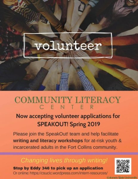Volunteer with the Community Literacy Center