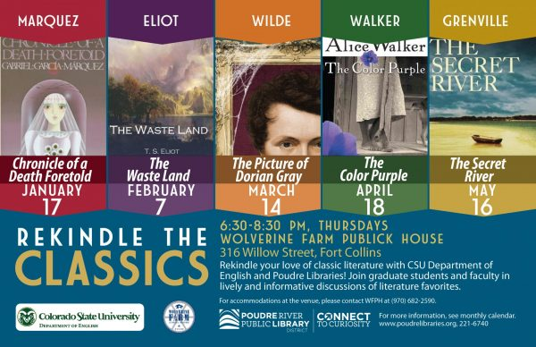 Rekindle the Classics Spring 2019 Poster