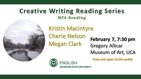 MFA Reading Announcement