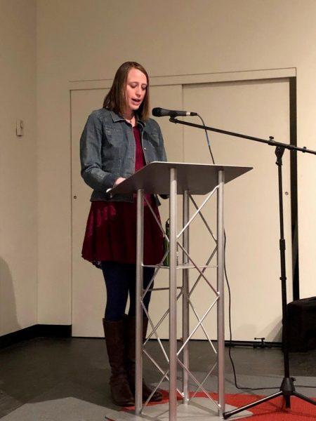 Sarah Wernsing reading