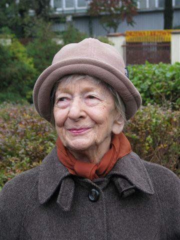 Portrait of Wislawa Szymborska