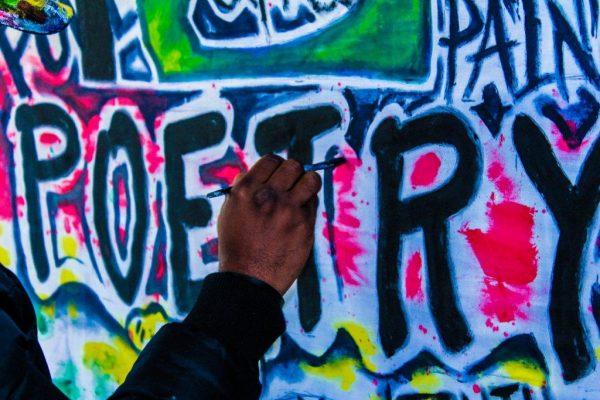 Poetry Graffiti