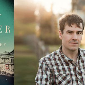 The Boat Runner cover and portrait of Devon Murphy