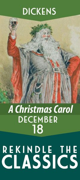 Rekindle the Classics promo, A Christmas Carol