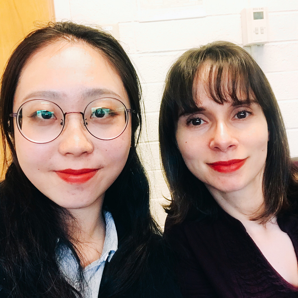Han Zhang and Dr. Luciana Marques