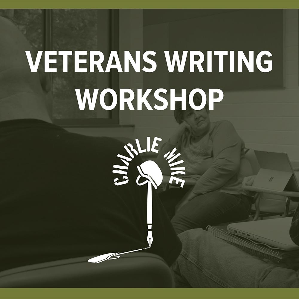 Veterans Writing Workshop Banner Square