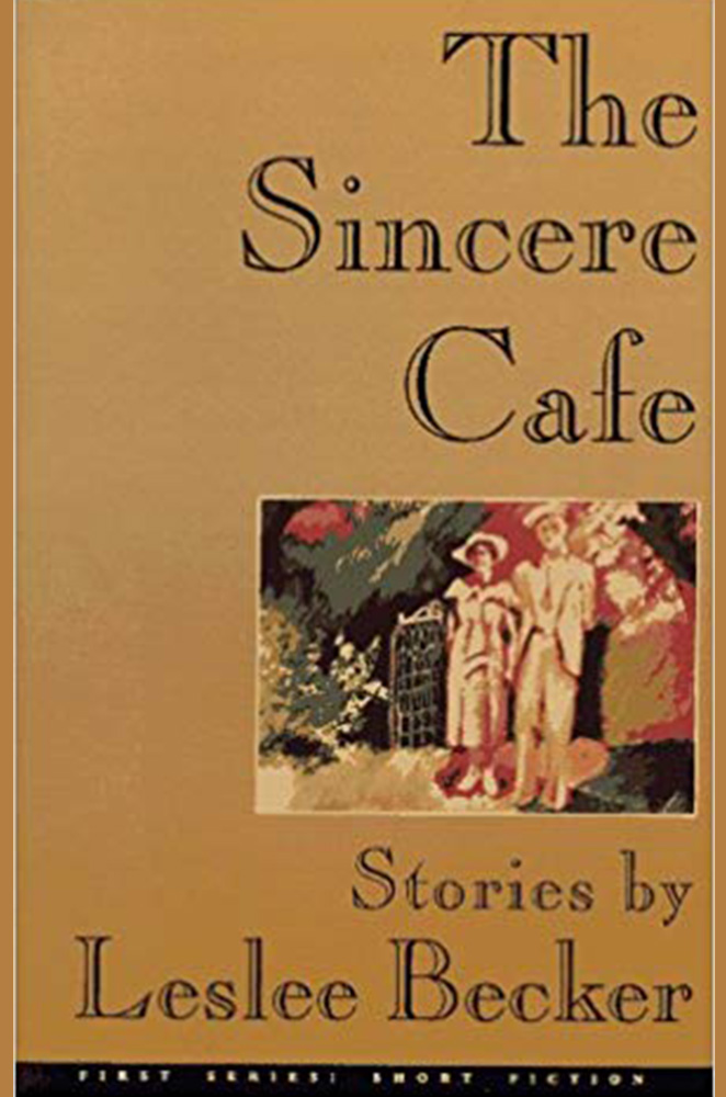 The Sincere Cafe book cover