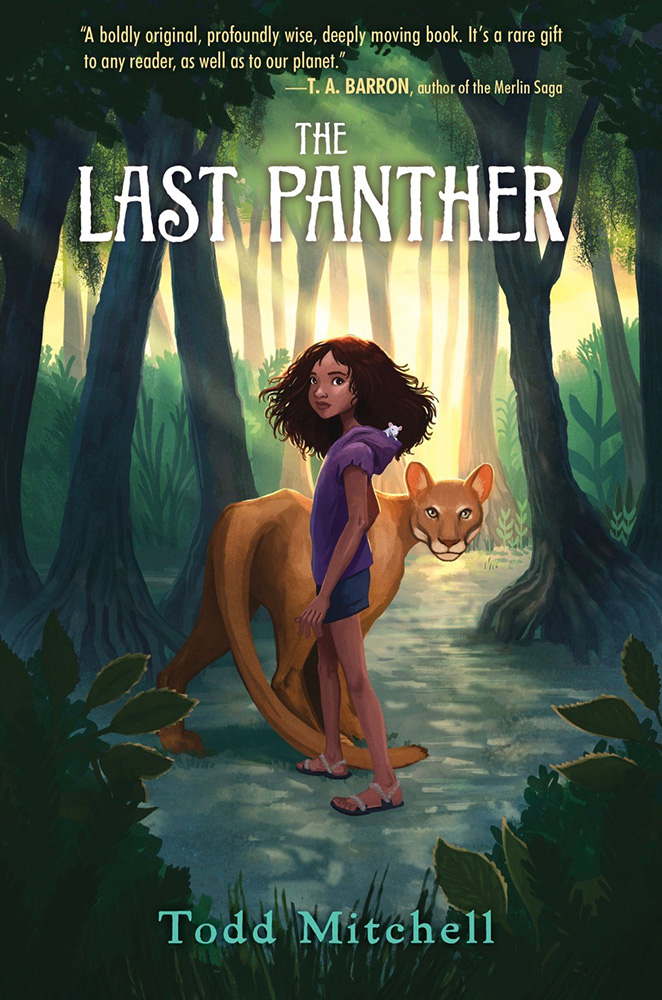 Last Panther book cover