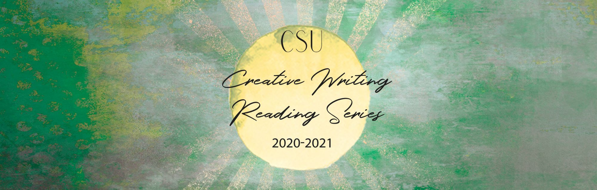 Creative Writing Reading Series 20-21 banner