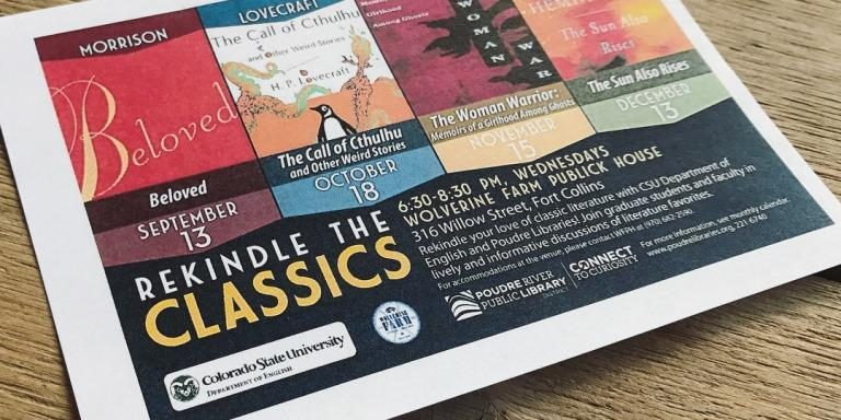 Flyer for Rekindle the Classics